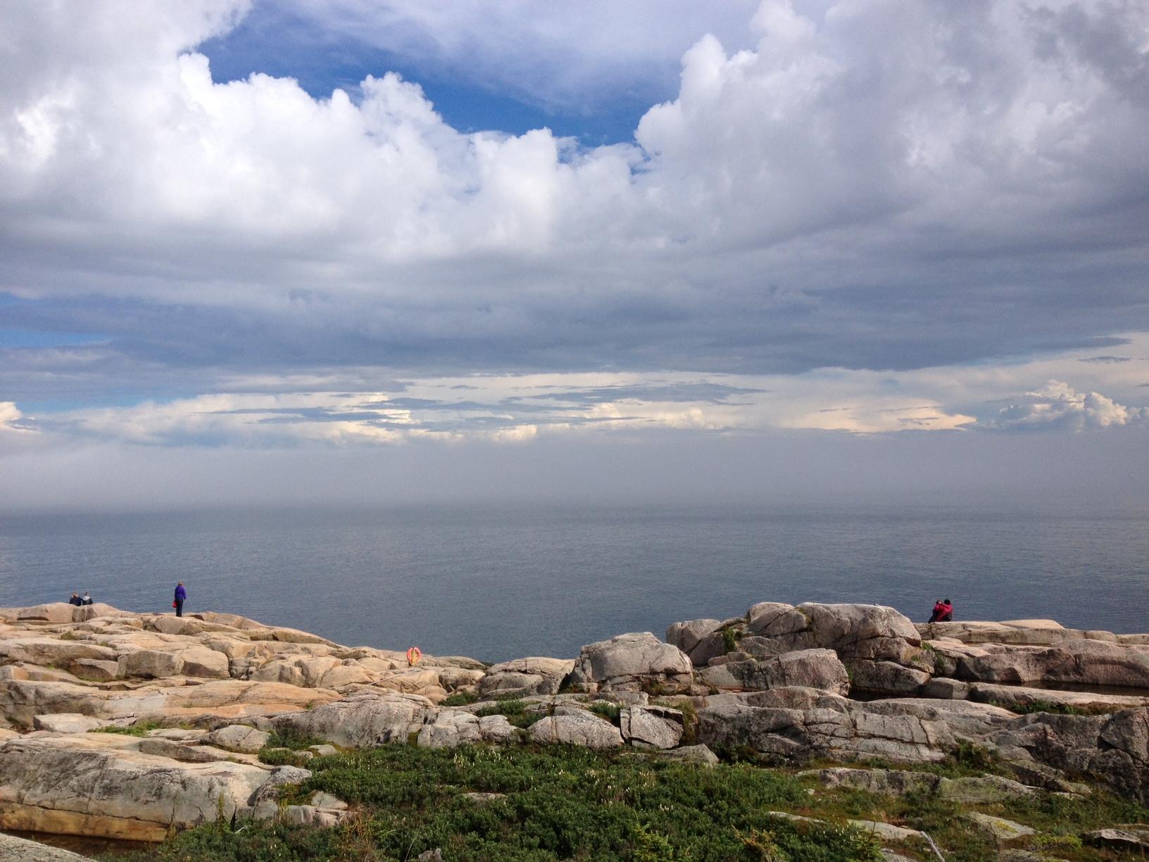 Le Saint-Laurent vu du Cap-de-bon-désir